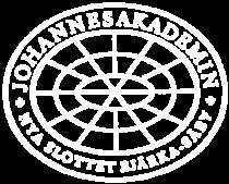 Logga Johannesakademin genomskinlig vit